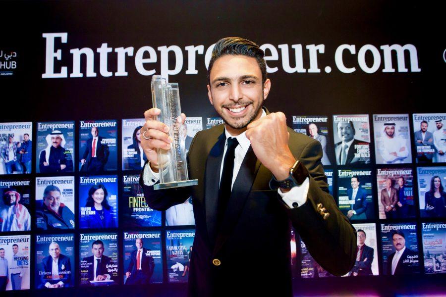Entrepreneur, entrepreneur magazine, agility awards 2018, Dtec portfolio, dtec ventures, 360mea, 360Vuz, Khaled Zaatarah, teleporter app, app of the year 2018, Live360, 360 camera, 360 degrees app, VR, AR, Virtual REality, Augment Reality, Best app
