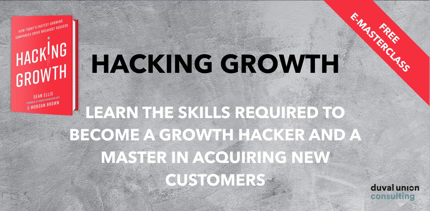 Hacking Growth Masterclass
