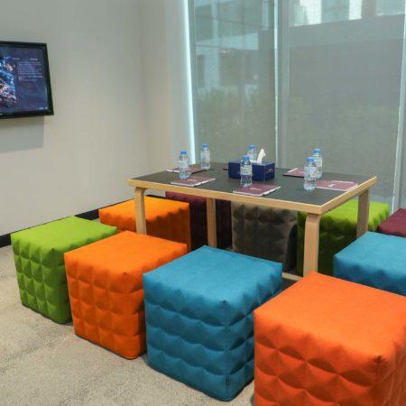Meeting Room 2, Dtec DDP, Casual meeting room, Dtec Coworking, Dubai Digital Park, Dubai Silicon Oasis