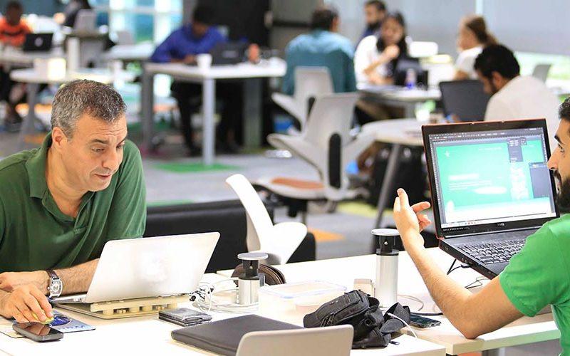 entrepreneurs in Dtec, Dubai